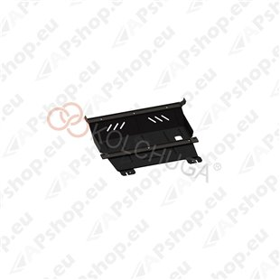 Kolchuga Steel Skid Plate Peugeot 208 2012- 1,6 THP (Engine, Gearbox, Radiator Protection)