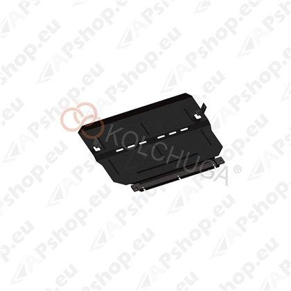 Kolchuga Steel Skid Plate Peugeot 2008 2013- 1,6i (Engine, Gearbox, Radiator Protection)