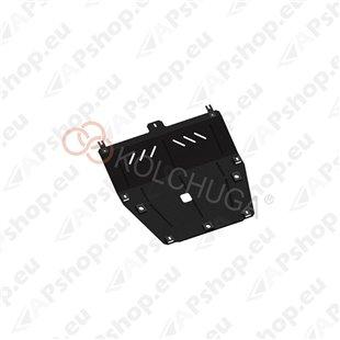 Kolchuga Steel Skid Plate Renault Captur 2013- 1,5DCI (Engine, Gearbox Protection)