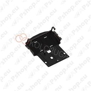 Kolchuga Steel Skid Plate BMW 5 E60/E61 2003-2010 2,3 2,5 3,0і (Engine, Radiator Protection)