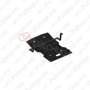 Kolchuga Steel Skid Plate BMW X1 2009-2015 2,0D (Radiator, Engine (Partially) Protection)