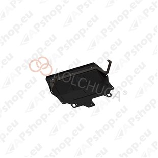 Kolchuga Steel Skid Plate Skoda Fabia II 2007- 1,2 (Engine, Gearbox, Radiator Protection)