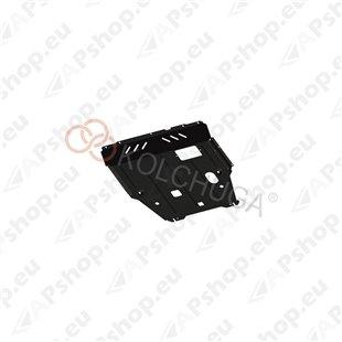 Kolchuga Steel Skid Plate Suzuki SX-4 2013- 1,6 (Engine, Gearbox, Radiator Protection)