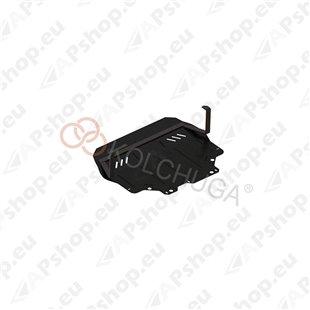 Kolchuga Steel Skid Plate Volkswagen Beetle 2011- 2,0 TDI (Engine, Gearbox, Radiator Protection)