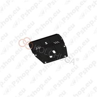 Kolchuga Steel Skid Plate Volvo S60 2010- 2,0TDI 2,5Т (Engine, Gearbox, Radiator Protection)