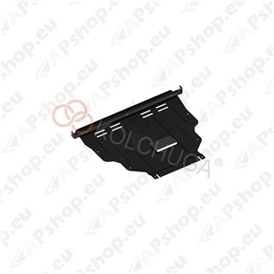 Kolchuga Steel Skid Plate Ford Kuga 2013- (Engine, Gearbox, Radiator Protection)