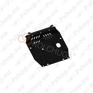 Kolchuga Steel Skid Plate Jeep Compass 2011- 2,4 (Engine, Gearbox, Radiator Protection)