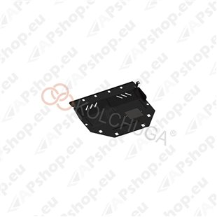 Kolchuga Steel Skid Plate Mazda 6 2012- 2,0i 2,2D (Engine, Gearbox, Radiator Protection)