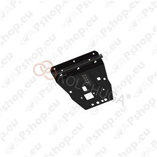 Kolchuga Steel Skid Plate Ssаng Yong Tivoli 2016- 1,6i (Engine, Gearbox, Radiator Protection)