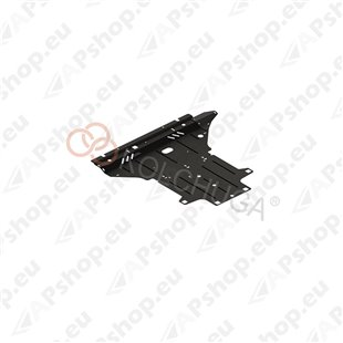 Kolchuga Steel Skid Plate Audi A5 В8 2007-2011 2,0TDI (Engine, Gearbox, Radiator Protection)