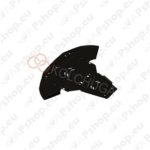 Kolchuga Steel Skid Plate Audi A6 C6 2004-2011 (Engine, Gearbox, Radiator Protection)