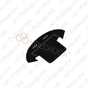Kolchuga Steel Skid Plate Audi A8 2000 4,2 (Engine, Gearbox, Radiator Protection)