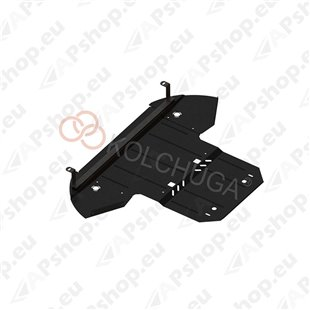 Kolchuga Steel Skid Plate Audi A8 2002-2010 3,2-4,2i (Engine, Gearbox, Radiator Protection)