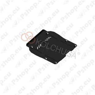 Kolchuga Steel Skid Plate Chevrolet Malibu 2012-2015 (Engine, Gearbox, Radiator Protection)