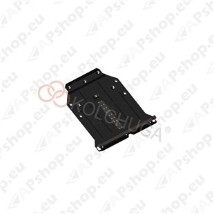 Kolchuga Steel Skid Plate Mercedes-Benz W245/Т245 2005-2011 (Engine, Gearbox Protection)