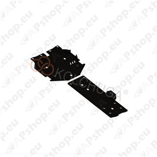 Kolchuga Steel Skid Plate Mercedes-Benz W 212 E350 2009- 3,5 (Engine, Gearbox Protection)