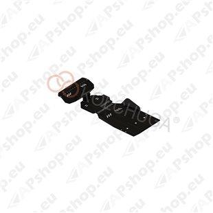 Kolchuga Steel Skid Plate Ssаng Yong Rexton 2011- 2,7XDI (Engine, Gearbox, Radiator Protection)