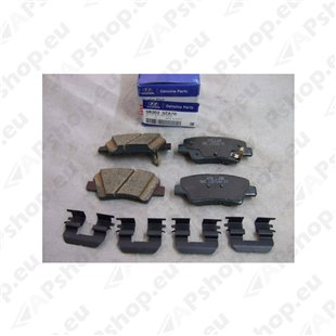 HYUNDAI Brake Pad Set 583023ZA70
