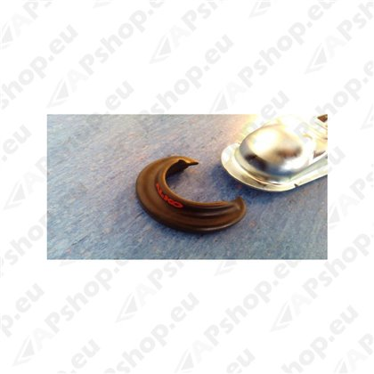 Rubber protection for coupling