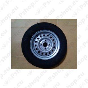 """Complete wheel 155R13 84N TL M+S 4.00x13 4x100 ET+30 """"E"""""""