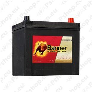 BANNER AKU RUNNING BULL EFB 65AH 233X173X225 - + 550A