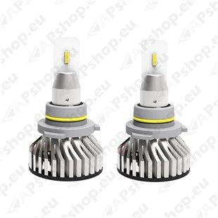 12V/24V HB4 LED PIRNIDE KOMPLEKT 36W P22D 9006 5700K 6000LM 2TK M+