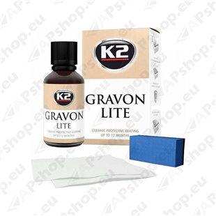 K2 GRAVON LITE KERAAMILINE PINNAKAITSEVAHEND 50ML KOMPLEKT 1-2A