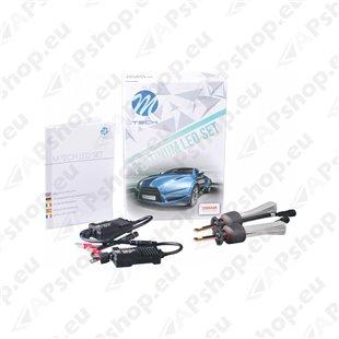 12V/24V H1 LED PIRNIDE KOMPLEKT 20/30W P14.5S 5700K 5200LM 2TK(OSRAM LED) M-TECH