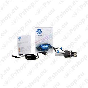 12V/24V H4 LED PIRNIDE KOMPLEKT 20/30W P43T 5700K 5200LM 2TK (OSRAM LED) M-TECH