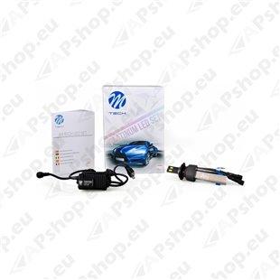 12V/24V H7 LED PIRNIDE KOMPLEKT 20/30W PX26D 5700K 5200LM 2TK (OSRAM LED) M-TECH