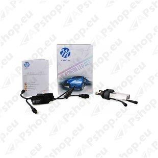 12V/24V H8 LED PIRNIDE KOMPLEKT 20/30W PGJ19-1 5700K 5200LM 2TK(OSRAM LED)M-TECH