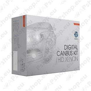 12V H4 BI-XENON/HID KOMPLEKT 35W 4300K 2TK DIGITAL CANBUS SLIM BALLAST M-TECH