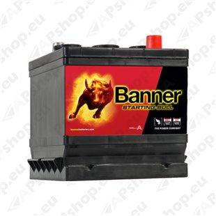 BANNER AKU STARTING BULL 6V 66AH 178X175X188 360A