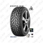 Snow tyre, studded