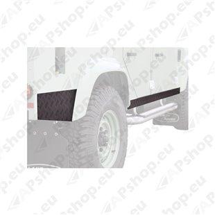 Front Runner Land Rover Defender 110 Sill Protector / Black BPLD003