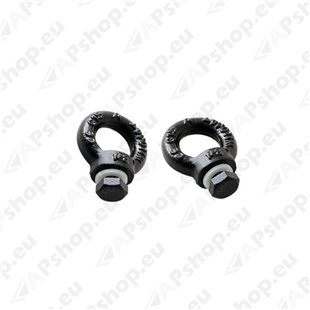 Front Runner Black Tie Down Rings RRAC012