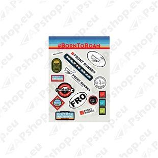 Front Runner Born To Roam Sticker Set SWAG124