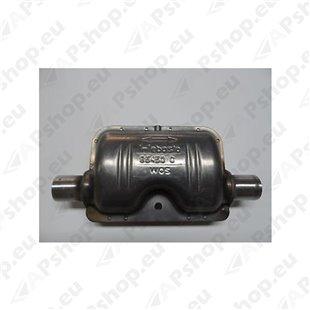 Webasto W1320895A Väljalaske summuti toru läbimõõt 22mm Thermo Top C-Z, Air Top 2000