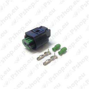 Webasto W1318966A Elektritarvik, materjal pistiku komplekt DP42