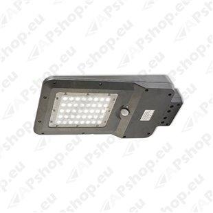 LED SOLAR STREET AKUGA 15W 1600LM 232X413MM SOLAR PANEL. ANDUR. IP65 A++ KOBI