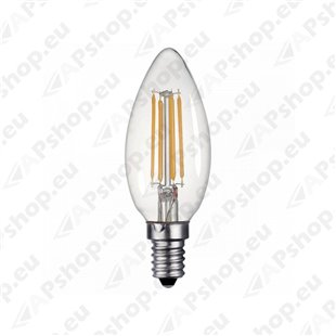 230V PIRN LED FILAMENT E14 C35 4W 420LM 3000K