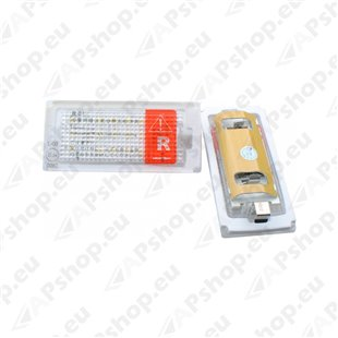 NUMBRITULI LED BMW OEM 51137113590 CANBUS 2TK M-TECH