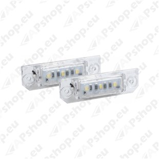 NUMBRITULI LED VOLKSWAGEN GOLF 4. 5. POLO 00-. PASSAT 06- CANBUS 2TK M-TECH