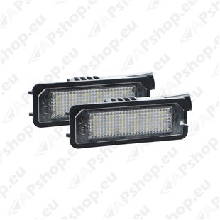 NUMBRITULI LED VOLKSWAGEN 1K8943021A. 1K8943012B CANBUS 2TK M-TECH