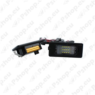 NUMBRITULI LED AUDI Q5 08-. A4 08-. S5 08-. A5 07- CANBUS 2TK M-TECH