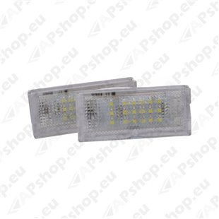 NUMBRITULI LED PORSCHE OEM 96463162000 CANBUS 2TK M-TECH