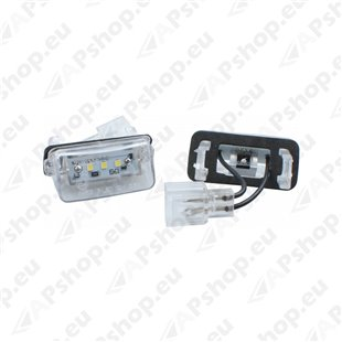 NUMBRITULI LED CITROEN. PEUGEOUT OEM 6340A3. 6340F9. 6340E8 CANBUS 2TK M-TECH