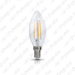 230V PIRN LED FILA E14 FSW 4W 470LM SOE VALGUS 3000K 35X100MM 360° A+ KOBI