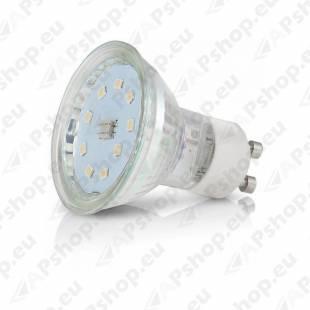 230V PIRN LED GU10 4W 300LM NEUTRAALVALGE 4000K 50X52MM A+ PREEMIUM KOBI