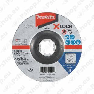 LIHVKETAS 125X6MM. X-LOCK (A36P) METALL 1TK MAKITA